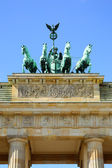 Brandenburg gate, Berlin — Stockfoto