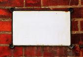 Blank tablet — Stock Photo