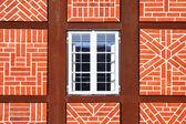 Finestra della vecchia casa — Foto Stock
