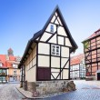 Stock Photo: Old street in Germany