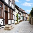 Old german street — Stock Photo