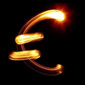 Símbolo del euro — Foto de Stock