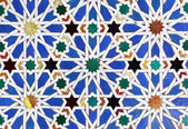 Moorish ceramic tiles — Stockfoto