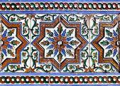 Moorish ceramic tiles — Stock Photo