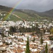 Granada after rain - Stock Photo