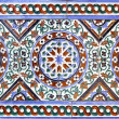 Moorish ceramic tiles - 图库照片