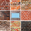 Stock Photo: Brickwork textures