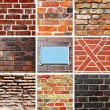 Brickwork textures — Stock Photo #23022032