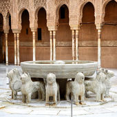 Fountain of the Lions — Stock Photo