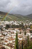 Granada after rain — Stock Photo