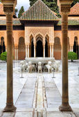Patio of the Lions — Stock Photo