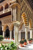 Alcázar van sevilla — Stockfoto