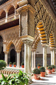 Seville Alcazar — Stock Photo
