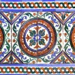 Stock Photo: Moorish ceramic tiles