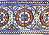Moorish ceramic tiles — Stock Photo