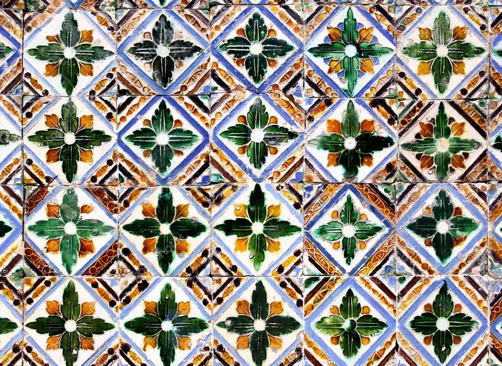 Azulejos de cer mica mud jar foto de stock 23483511 for Azulejos de ceramica
