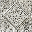 Moorish stone carving - Stock Photo