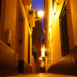 Seville at night — 图库照片
