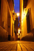 Seville at night — Stockfoto
