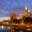 Frankfurt am Mine — Stockfoto