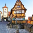 Stock Photo: Rothenburg ob der Tauber