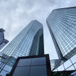 Skyscrapers of Frankfurt - Stock Photo
