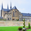 Benedictine monastery in Bamberg - Stock Photo