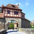 Gate of Rothenburg - Stock Photo