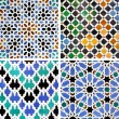 Moorish ceramics — Stock Photo