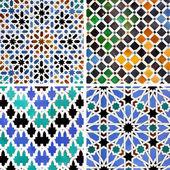 Moorish ceramics — Stock Photo