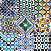 Traditional patterns — Stockfoto