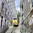 Funicular in Lisbon — Stock Photo #27530349