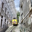 Stock Photo: Funicular in Lisbon