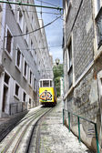 Funicular in Lisbon — Stock Photo