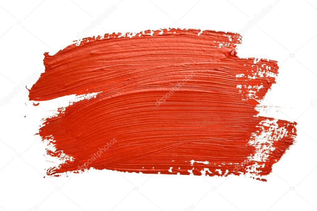 红色画笔描边 — 图库照片08zoooom#29057519