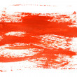 Red brush strokes — Stock Photo