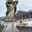 Stock Photo: Old bridge in Wurzburg