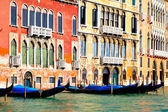 Gondolas at Grand Canal — ストック写真