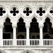 Colonnade of Doge's Palace — Stock Photo