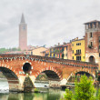 Ponte Pietra — Stock Photo
