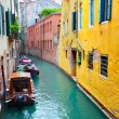 Narrow canal in Venice — Stock Photo #34145019