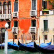Gondolas at Grand Canal — Stock Photo #34146663