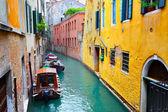 Kanal in venedig — Stockfoto