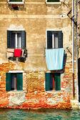 Vecchia casa a venezia — Foto Stock
