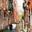 Narrow canal in Venice — Stock Photo #39999629