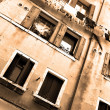 Old house in Venice — Stock fotografie
