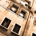 oud huis in Venetië — Stockfoto