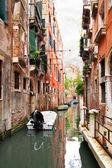 Narrow canal in Venice — Stock Photo