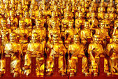Gold statues of the Lohans — Stock Photo