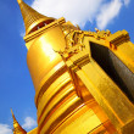 Stupa in Wat Phra Kaeo — Stock Photo #4550296